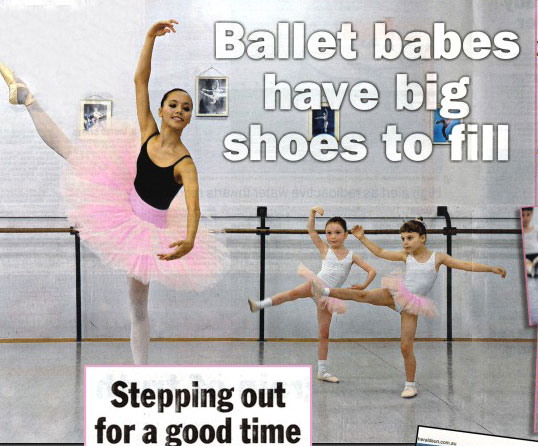 Herald Sun Ballet Feature
